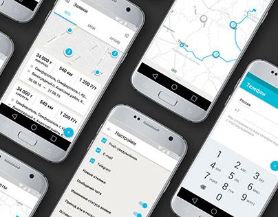 Vezzer.no mobile application