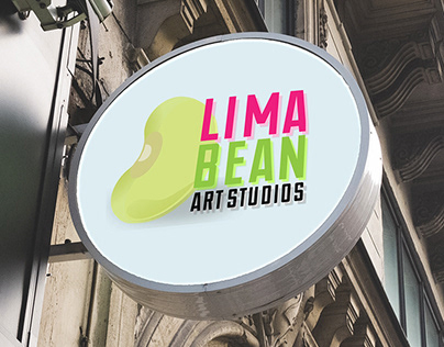 Lima Bean Art Studio Brand Design