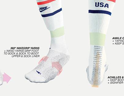 NikeGrip Global Football Sock 20-21