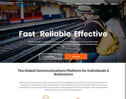 BulkSMSclick New Site | Messaging Platform For All
