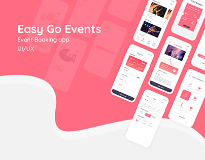 Event Booking case study UI/UX