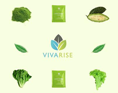 Vivarise Landing Page