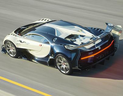 2016 Bugatti Vision Gran Turismo Concept CGI