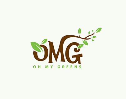Oh My Greens Logo