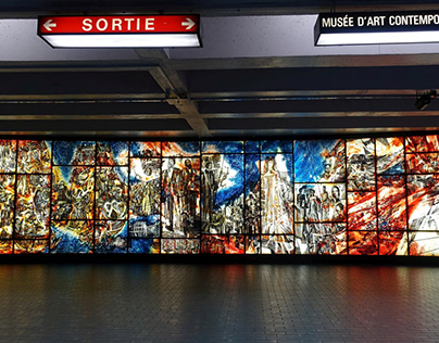 Mural Histoire de la musique à Montréal