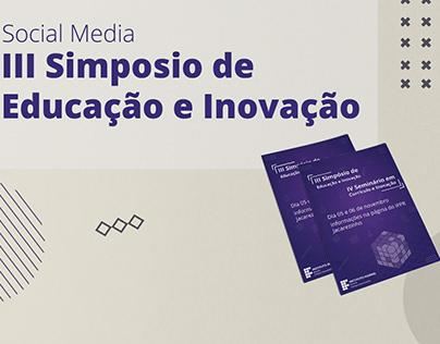 Simpósio de educação e inovação social media