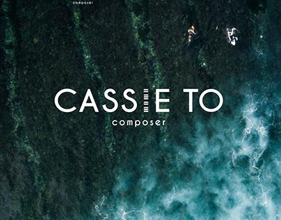 Cassie To Composer - Logo & Branding, Website UX/UI