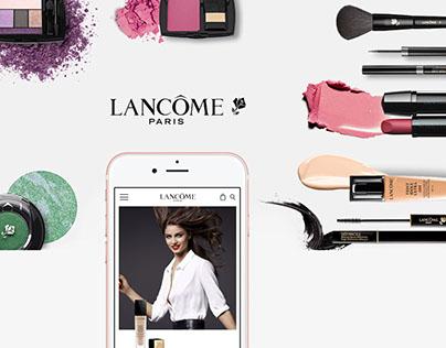 UX/UI Design - Lancôme Concept