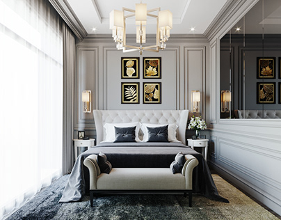 Contemporary Classic Bedroom