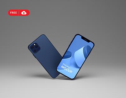 Download Free i PhoneBox Mockups
