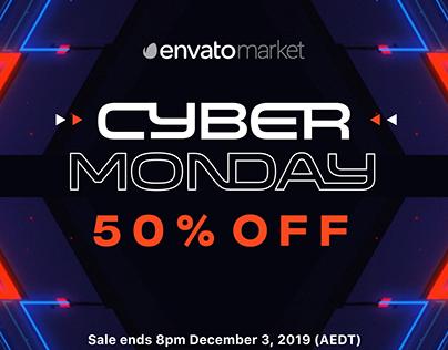 Cyber Monday / Black Friday on Envato Market
