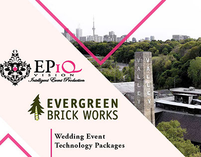 EPiQVision Wedding Technology Packages