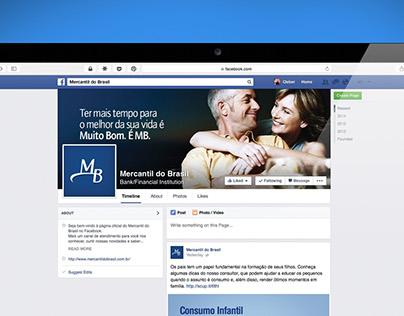 Fanpage Banco Mercantil do Brasil