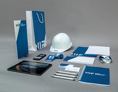 Brand identity of NIF Ltd.