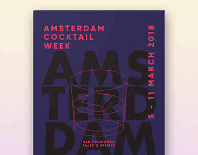 Amsterdam Cocktail Week | Poster Design