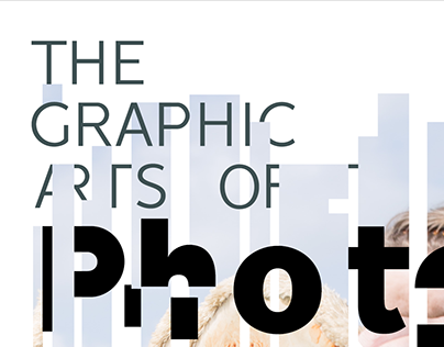 The Graphic Arts of Photography Editorial Poster