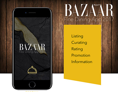 Harper's Bazaar Fine Dining App 2017