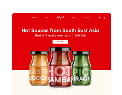 SpicyLah (UI/UX) (Singapore and SEA)