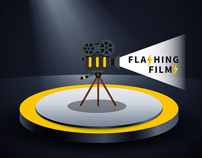 Flashing Film logo