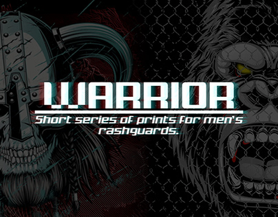 Warrior. Men's rashguards