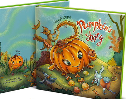 Pumpkin's story picture book