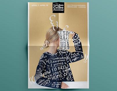 LONDON coffee festival poster