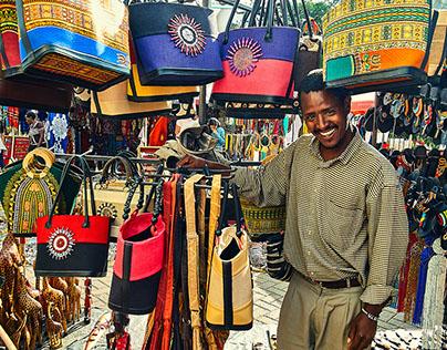 Portraits of the Maasai Market
