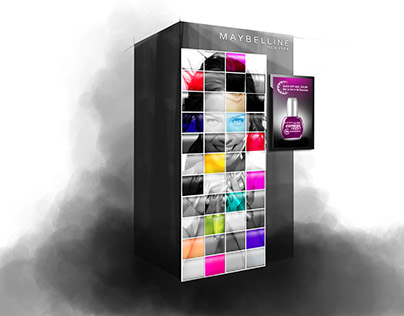 Maybelline Vending Concepts