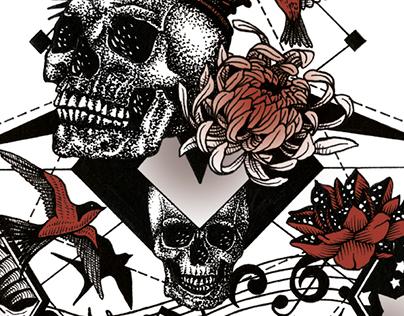 Half Sleeve Tattoo Design