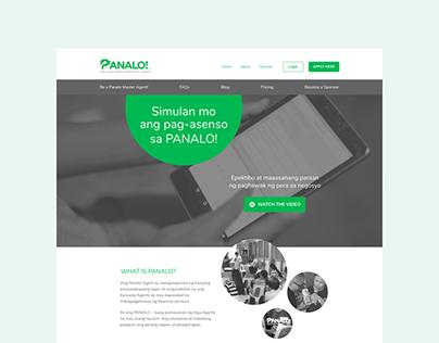 Web design & front-end development – Panalo!(2017)