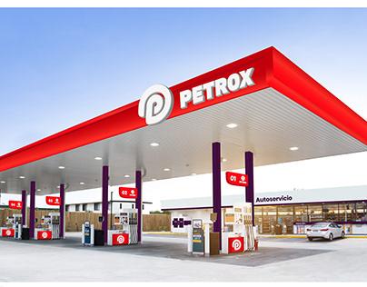 Identidad estación de servicio PETROX