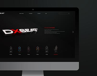 DXSEAT webdesign
