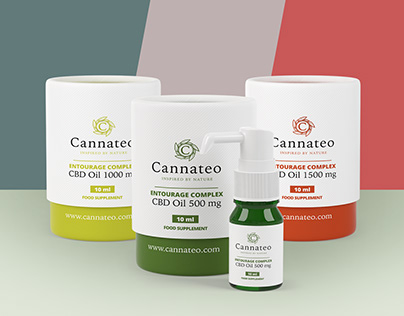 Cannateo Branding & Packaging