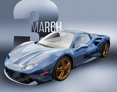 Super Car Calendar