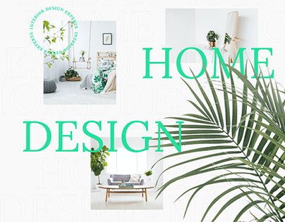 Design Home | Landing Page | Interior Studio