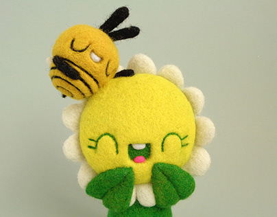 Daisy and Bee are more than just friends Art Toy