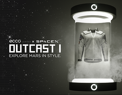 ECCO Leather x SpaceX: OUTCAST 1 Techtonic Concept