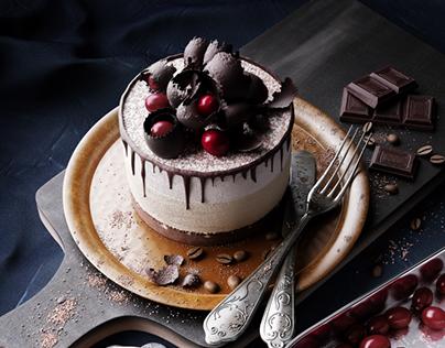 Ice Cream Cake - 3D Culinary Arts