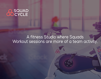 Web Design - Squad Cycle - Fitness Studio of its kind!