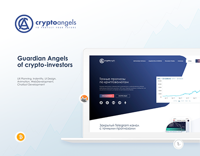 Cryptoangels Website & Chatbot