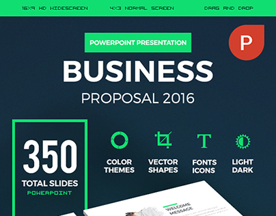 Business Proposal 2016 PowerPoint Presentation Template