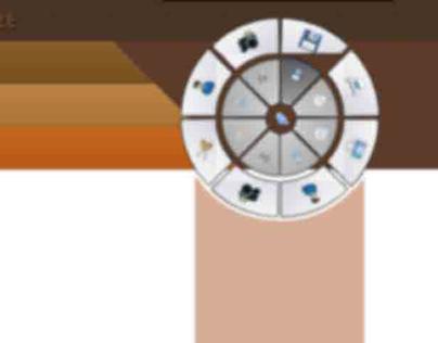 Pie Menu Design