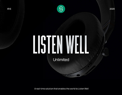 IRIS - Listen Well - Website