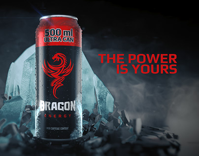 Dragon Energy Drink - The Power is Yours