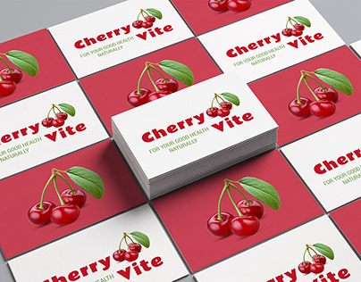 Cherry Vite Logo Design