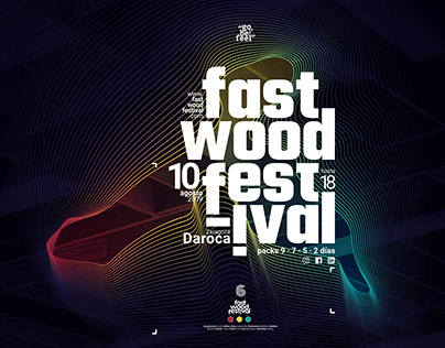 Comunicación gráfica 6 Fast Wood Festival