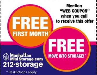 Manhattan Mini Storage - Web Advertising