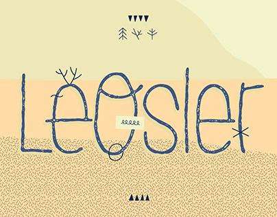 LeOsler — typeface