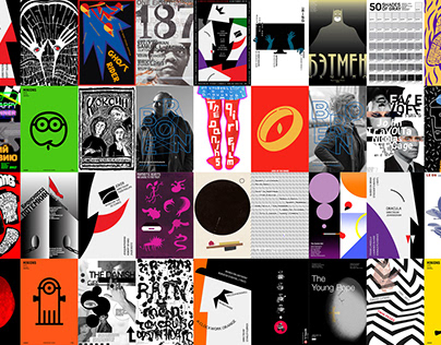 Poster. Stylization posters