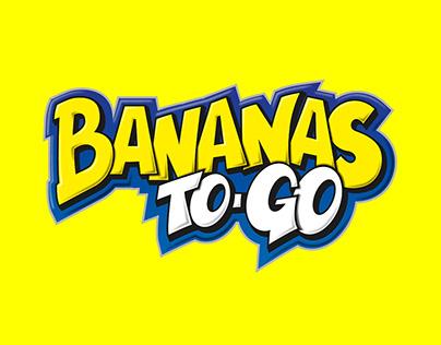 Bananas To-Go Brand desing